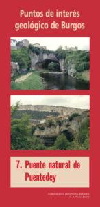 7/ Puente natural de Puentedey