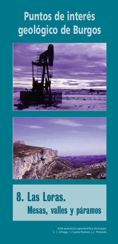 Lugares de interés geológico de Burgos, nº 8: Las Loras. Mesas, valles y páramos