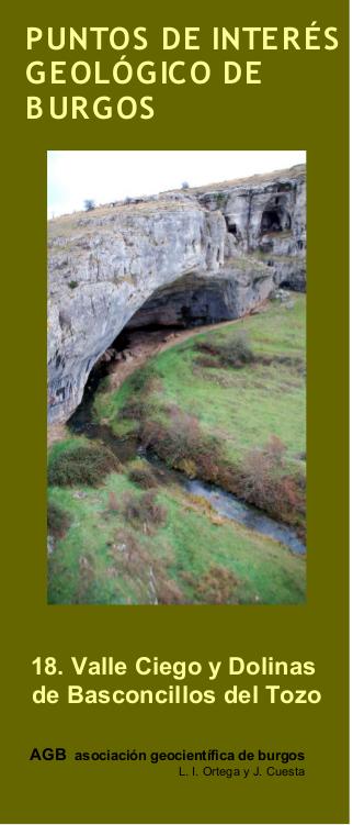 Lugares de interés geológico de Burgos nª 18: Valle ciego y dolinas en Basconcillos del Tozo