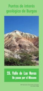 Tríptico nº 23 Valle de las Navas. Pincha en la imagen para descargar en PDF