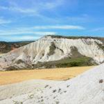 Laderas acarcavadas sobre margas blancas. Formación Carcedo. Camino de Tobes y Rahedo. Foto LI Ortega 2012