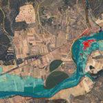 Mapa de riesgo de inundaciones para un periodo de retorno de 500 años. Hoja 276 - Lerma (Burgos).