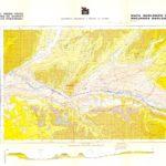 Mapa Geologico y Recursos geológicos Burgos 1/25.000 ITGE 1988.