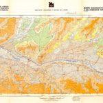 Mapa Geomorfológico y Riesgos Geológicos Burgos 1/25.000. ITGE 1988