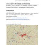 Guión excursión Riesgos geológicos AGB. Burgos 201